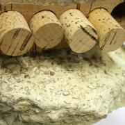 Bouchon en liège naturel sur forme